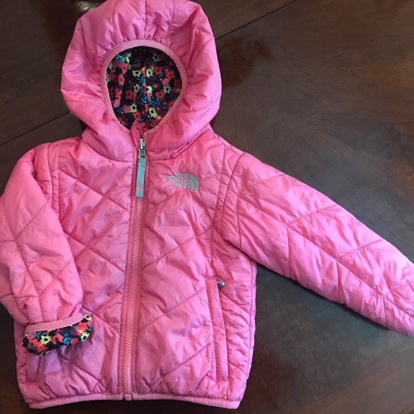 The North Face Other - Pink reversible North Face winter jacket